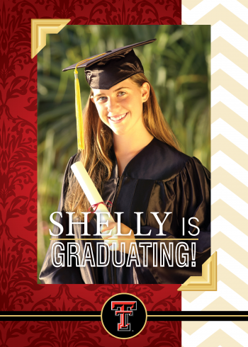 Amy Linthicum graduation announcement