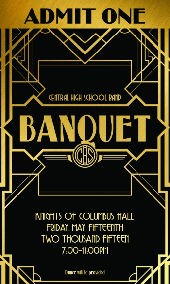 CHS Band banquet tickets