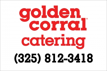 Golden Corral magnetic sign