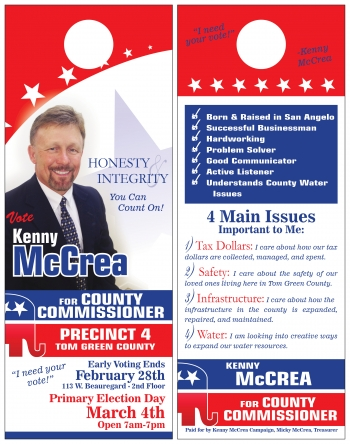 Kenny McCrea door hangers 2
