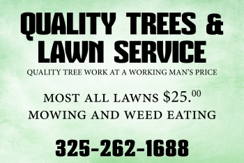 Quality Lawn Service magnetic signs