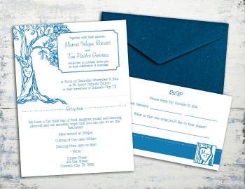 TG Wedding Invitation set 4