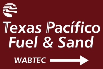 Texas Pacifico magnetic sign